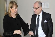 Susana Malcorra y Jorge Faurie