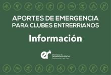Extendieron el plazo de acceso al Programa de Emergencia para clubes de barrio