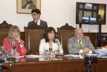 Integrantes del Tribunal Oral
