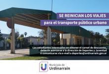 transporte interurbano Urdinarrain