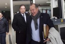 Cristian Treppo y su abogado