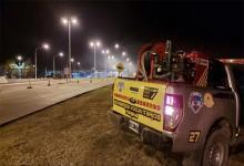 Otra vez, la quema de pastizales pone en alerta a las autoridades y usuarios del Túnel Subfluvial.