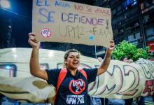 marcha contra UPM