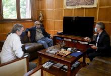 Junto a ministros nacionales, Urribarri definió ejes de agenda bilateral para 2021