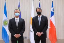 El presidente de Chipre recibió las cartas credenciales de Urribarri