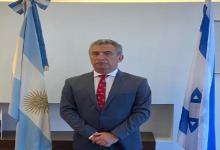 Urribarri en la Embajada argentina en Israel