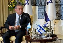 Urribarri es actualmente embajador argentino en Israel