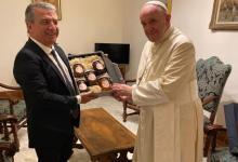 Cuatro meses y medio después, Urribarri reveló que se reunió con el Papa Francisco