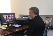 Urribarri acompañó a Trotta en un encuentro con el ministro de Educación de Israel