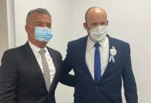 Urribarri fue recibido por el primer Ministro de Israel, Naftalí Bennett