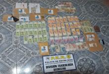 El procedimiento permitió el secuestro de dinero en efectivo, de cocaína y marihuana, además de la detención de una persona.
