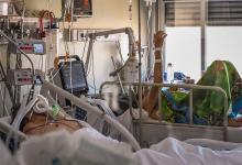 Según las clínicas y centros de salud, la ocupación de las UTI también muestra una baja, aunque se mantiene alta.