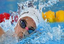 Natación: Delfina Pignatello abrió el Sudamericano con el oro en los 800 metros libres
