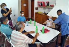Comenzó la vacunación contra el Covid-19 en residencias geriátricas de la provincia