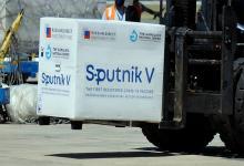 A la Argentina arribaron 300 mil dosis de Sputnik V.
