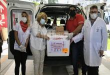 Martorano recibe vacunas Covid