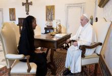 Diplomática de carrera, María Fernanda Silva se convirtió en la primera mujer en convertirse en embajadora ante la Santa Sede.