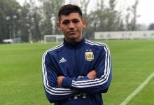 El juvenil de Patronato Luis Vázquez jugó un amistoso con la preselección argentina sub 18