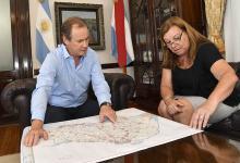 El gobernador Gustavo Bordet analizó con la titular de Vialidad el plan de obras de esa cartera y que se pretende aplicar en el período 2020-2024.