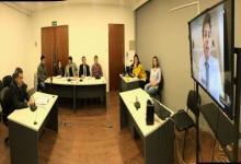 Recibieron una testimonial por videoconferencia en el fuero Civil y Comercial de Paraná