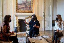 Carla Vizzotti se reunió con la Encargada de Negocios de Estados Unidos