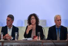 Carla Vizzotti, viceministra de Salud en conferencia de prensa