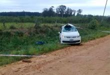 El siniestro vial ocurrió en la tarde de ayer, en un camino de ripio de Federación.
