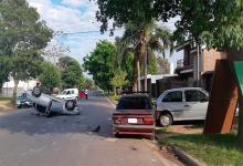vuelco calle Juan Báez