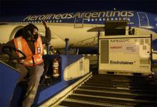 Aerolíneas Argentinas lleva completados un total de cinco vuelos a China.