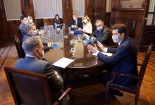 El ministro De Pedro se reunió con los integrantes de la Cámara Electoral