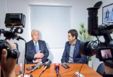 Con la visita de Lauritto, la CARU avanzó en una agenda con el intendente Bastian