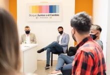 Foto prensa Juntos por el Cambio