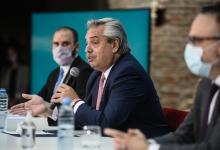 Alberto Fernández anuncios sector automotriz
