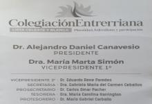 Canavesio presidirá por otro mandato el Colegio de la Abogacía