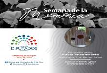 actividades Diputados Semana de la Memoria