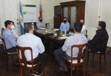 Autoridades de la Cámara Entrerriana de Turismo se reunieron con Bahillo