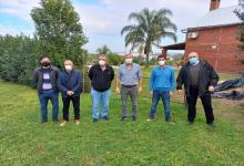 Frigerio con dirigentes de Construir UCR