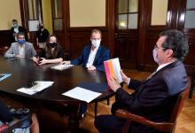 Bordet acordó en Nación la puesta en valor del Palacio San José