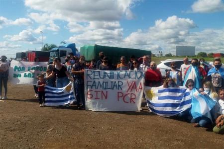 """Con una mención crítica al intendente de Paysandú, desde Colón reclamaron que """"abran la frontera sin PCR""""."""