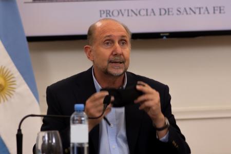 gobernador de Santa Fe, Omar Perotti